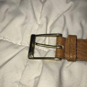 Light Brown Vintage Dior Belt ❤️